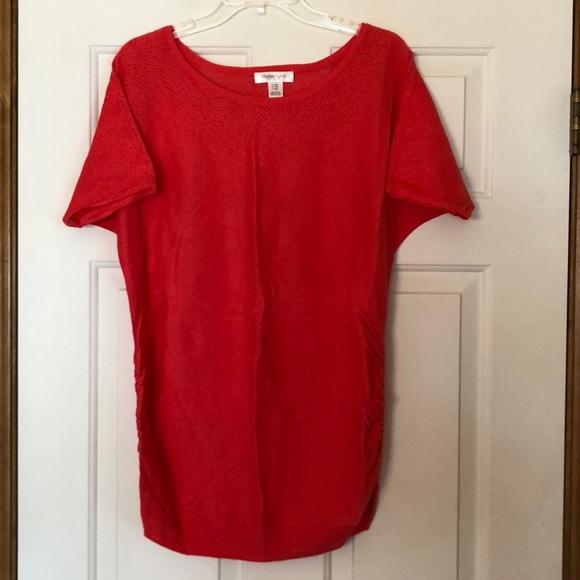 Motherhood Maternity Sweaters - Maternity sweater - coral